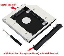 pour HP EliteBook 6930p 8440p 8530p 8540p 2nd HDD SSD Caddy Disque Dur Boîtier