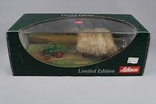 ZC467 Schuco 02882 Miniature Tracteur 1/43 Diorama Deutz F1 M414 mit Anhänger