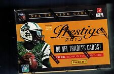 2013 PRESTIGE NFL Football Sealed Box  8 Packs 10 CARDS PER Le'VEON BELL ROOKIE
