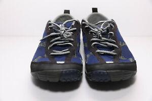 Merrell Mens Road Glove Twlight Blue Vibram Soles Sz 8.5 Running Hiking Shoes