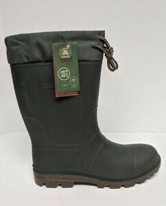 Kamik Icebreaker Snow Boots, Dark Green, Men's 13 M