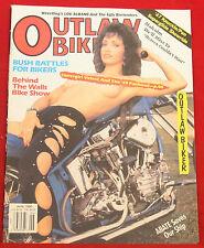 Outlaw Biker Magazine June 1990, Near Mint Condition, Tattoo