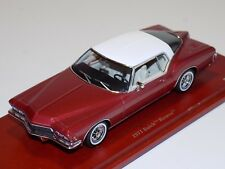 1/43 True Scale TSM 1971 Buick Riviera in Metallic Red TSM 114332