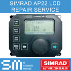 SIMRAD AP22 Autopilot Head LCD Display Screen Repair Service   1 YEAR WARRANTY