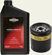 Briggs and Stratton Genuine 491056 Oil Filter 2L E-Engine Oil SAE 30