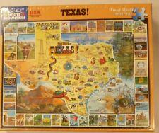 White Mountain 1000 Pc Puzzle Texas # 90