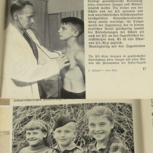 German Boy Yearbook 1942 Vol. 5 w/ photos, stories, 417 pp, Youth Germany