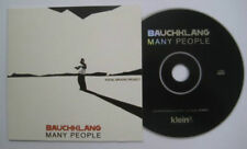 BAUCHKLANG Many people 17-track PR0M0 Album CD card sleeve Vocal groove project