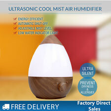 2.5L Air Humidifier Ultrasonic Cool Mist Steam Nebuliser Aroma Diffuser Purifier
