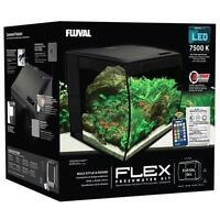 "FLUVAL - FLEX 34L 9 GALLON AQUARIUM KIT - (14"" X 13"" X 13"")"
