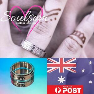 Self Healing SOULSOM Spinner Ring Stress relieving Anxiety relief Lotus Flower