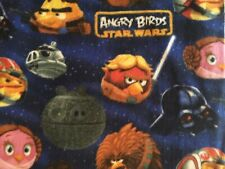 Angry Birds Star Wars Edition Fleece Fabric by Camelot Fabrics BTY