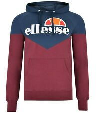 Men's New Ellesse Fleece Hoodie Hoody Hooded Sweatshirt Jumper Pullover Jacket