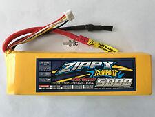 1x ZIPPY Compact 5800mAh 3S 60C NEU 3S Lipo Akku 11,1V Traxxas Horizon Kyosho