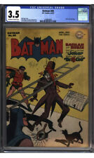 BATMAN #40 CGC 3.5 Classic JOKER Cover & Story! Golden Age!!!!!