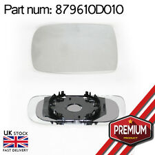 Original Mirror Glass Left Side + Clip On Base For Toyota Yaris 1999 - 2006