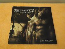 Bleeding Display - Ways To End, Album - CD, 2006 Butchered Records. Death Metal.
