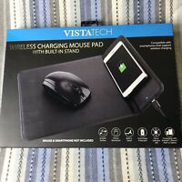 VistaTech Wireless Charging Mouse Pad Desktop Charger For iPhone X Samsung