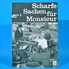 """2267 Film Für Sie 40/1968 DDR """"Scharfe Sachen für Monsieur"""" Louis de Funes"""