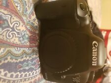 Canon EOS 7D Mark II 20.2MP Digital SLR Camera - Black (Body Only) (with...