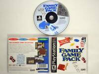 Family Game Pack game for Sony PlayStation 1 -Complete