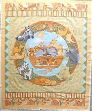 Noahs ARK COT QUILT fabric panel-FLOOR MAT-Muro per Appendere ETC 106 x 89 cm