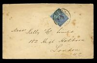 GB QV JUBILEE 2 1/2d USED in PORTUGAL 1895 LISBON to LONDON
