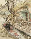 Arthur Rackham Wind In The Willows Canvas 16 x 20  #3894