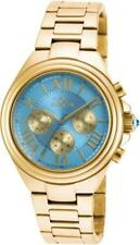 Invicta 18750 5th Ave Day Date 24 Hour Blue Dial Stainless Steel Womens Watch