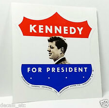 Kennedy for President Vintage Style Decal / JFK Vinyl Sticker
