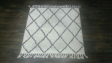 Nice SPRE14A NuLOOM 100% Wool Hand Knotted Fez Shag Area Rug, 8 x 8