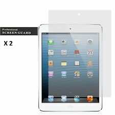 2 x iPad Air 1 2 Ultra Clear LCD Front Screen Protector Quality Cover Shield New