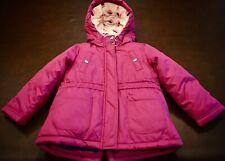 Carters Coat Winter Parka Purple Blue White Pink Hooded...