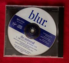 BLUR promo USA 2 tracks cd single THE UNIVERSAL Oasis Brit Pop Damon Albarn
