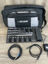 BOSS GT-8 Multi-Effects Guitar Pedal FMJ  with cords And Carrying Case #191
