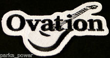 Ovation Guitar Patch, Instruments, Music, Iron on