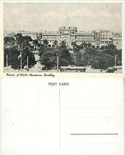 Prince of Wales Museum Building Bombay India Vintage Postcard - Architecture