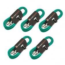 5 x 6m Macho a Cable Hembra Mic XLR / Micrófono Balanceado Cable / Verde
