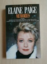 THE BEST OF ELAINE PAIGE ~MEMORIES ON CASSETTE TAPE 1987