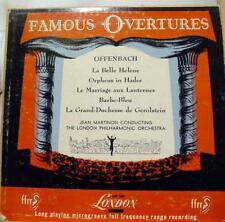 MARTINON offenbach la belle helene LP VG+ LLP 350 Vinyl 1951 Record