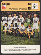 Editions Rencontre - Soccer 1978 - Olympique Marseilles