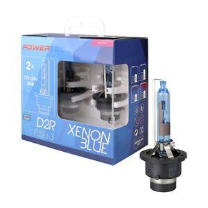 2 LAMPADE ALLO XENON D2R,SERIE SPECIALE Powertec Xenon Blue D2R DUO-6500K