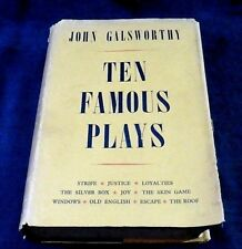 """Ten Famous Plays"" Galsworthy, hardback, 1949 (3rd print)"