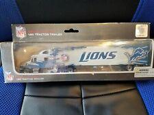 Press Pass Inc 2009 1:80 scale Nfl tractor trailer Detroit Lions