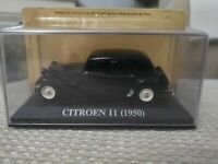 CITROEN 11 CV MODEL CAR 1950 1/43RD SIZE CLASSIC FRENCH VERSION MODELO NEW