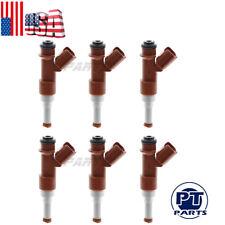 6 pcs OEM Denso 23250-31050 Flow Matched Fuel Injector for Toyota Lexus 3.5L V6