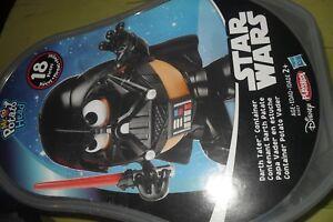 Star Wars Mr. Potato Head Darth Vader Darth Tater 13 Piece Set With Container