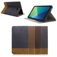 Folio Stand PU Leather Case Cover For Samsung Tab A 10.1-Inch with S Pen SM-P580