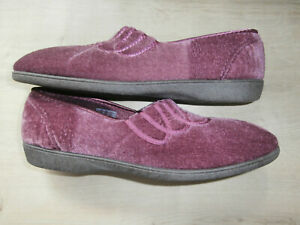 BNIB CLARKS ladies slippers size 7 D Whiskey Soda colour Heather RRP £20.
