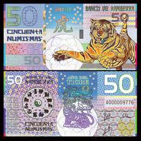 LOT Kamberra UNC /> Praying Mantis 2013 5 x 50 Numismas 2014 POLYMER